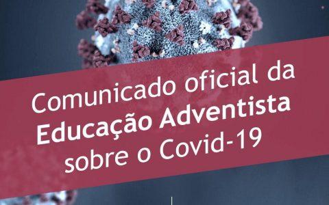 Educação Adventista - Corona Vírus