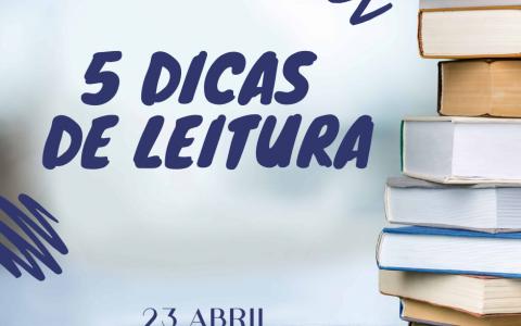 5 dicas de leitura - Dia mundial do livro